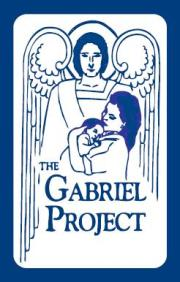 "The angel in our icon not only represents the message Archangel Gabriel gave to Mary and we extend to pregnant mothers. He also represents the parish community and our individual parish ""angels"". He is a symbol of protection, ours and God's. The mother in the icon embraces her child and motherhood with confidence and she too is a symbol of protection. The child in the icon rests peacefully in the arms of mother."